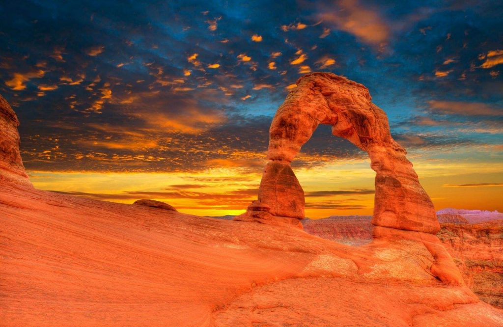 Arches National Park is one of several great national parks on the West Coast.