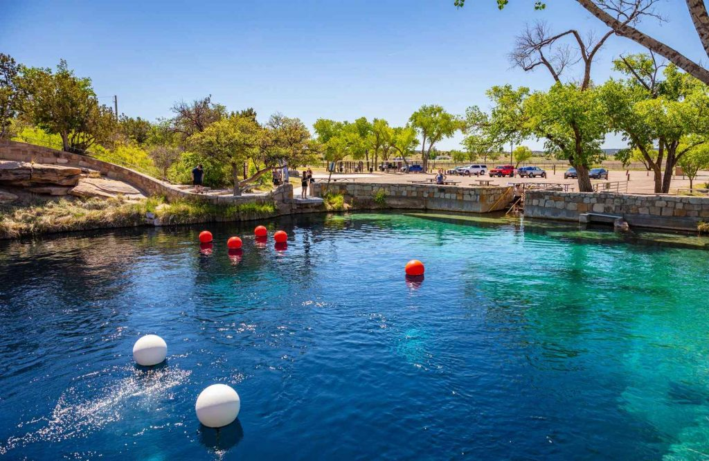 The Blue Hole in Santa Rosa belongs on every list of things to see on Route 66.