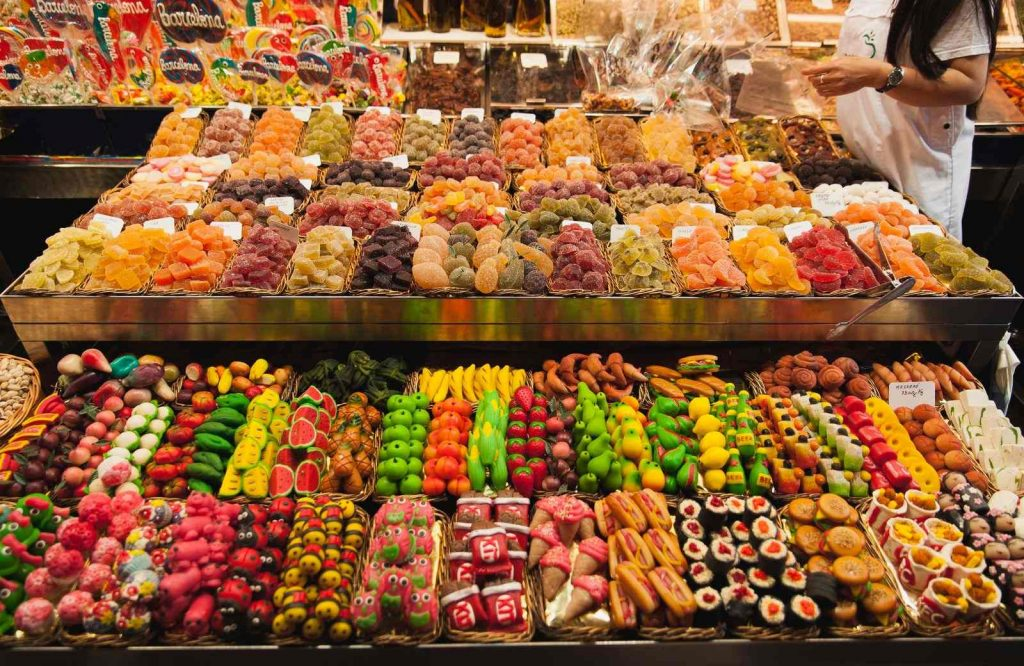 Boqueria Market is a must on any 2 day Barcelona itinerary.