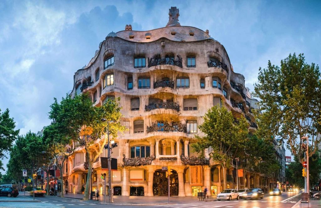 Don't forget to visit Casa Mila during your trip to Barcelona in 2 days.