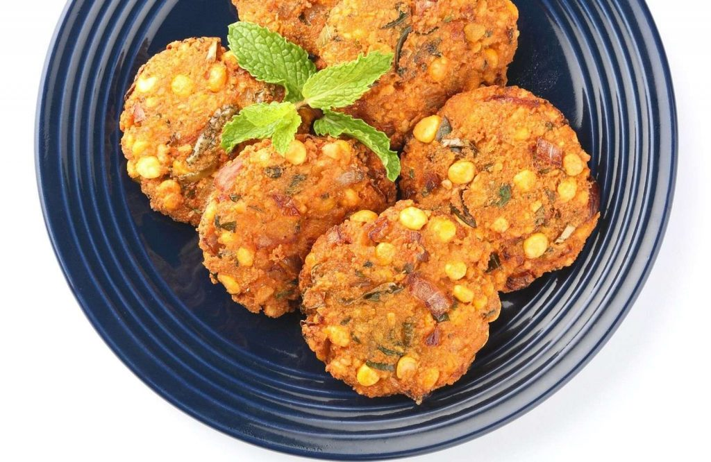 Dal Vada is an iconic Indian street food dish.