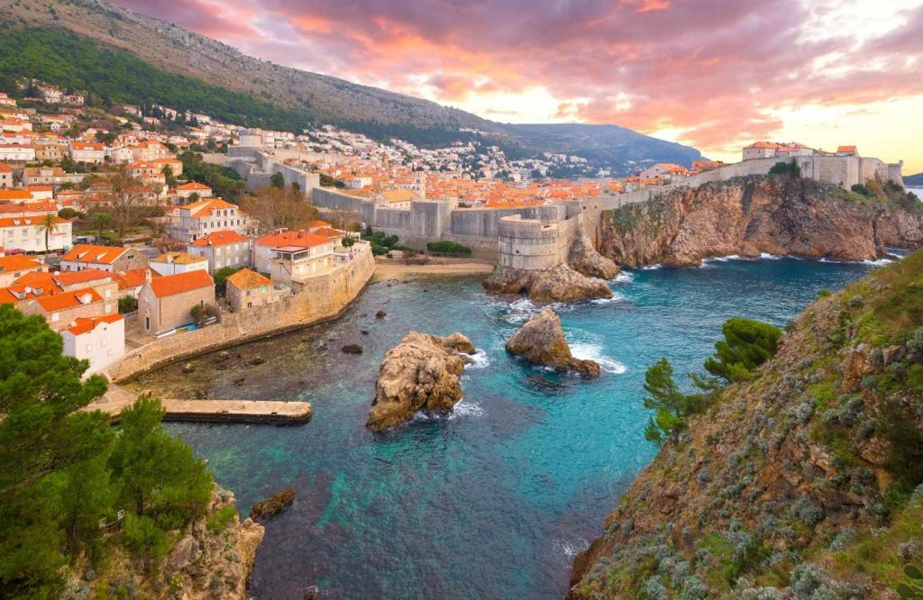 An iconic and romantic city in Europe is Dubrovnik.