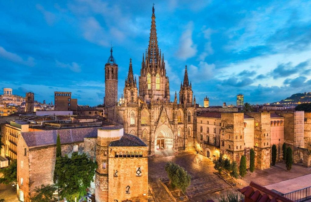 Add the Gothic Quarter to your 2 day Barcelona itinerary.