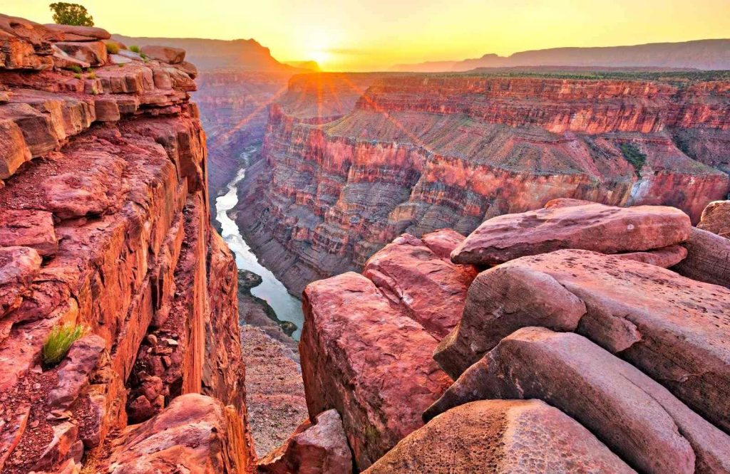 Grand Canyon National Parks is one of the most iconic national parks on the West Coast.