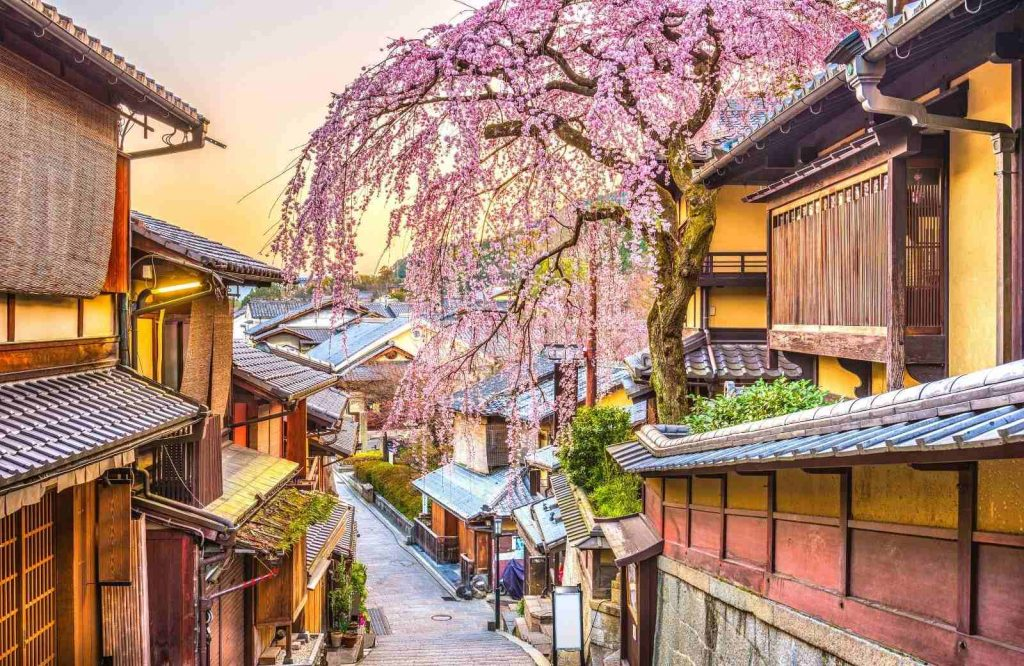 A fascinating destination to add to your bucket list for couples is Kyoto, Japan.