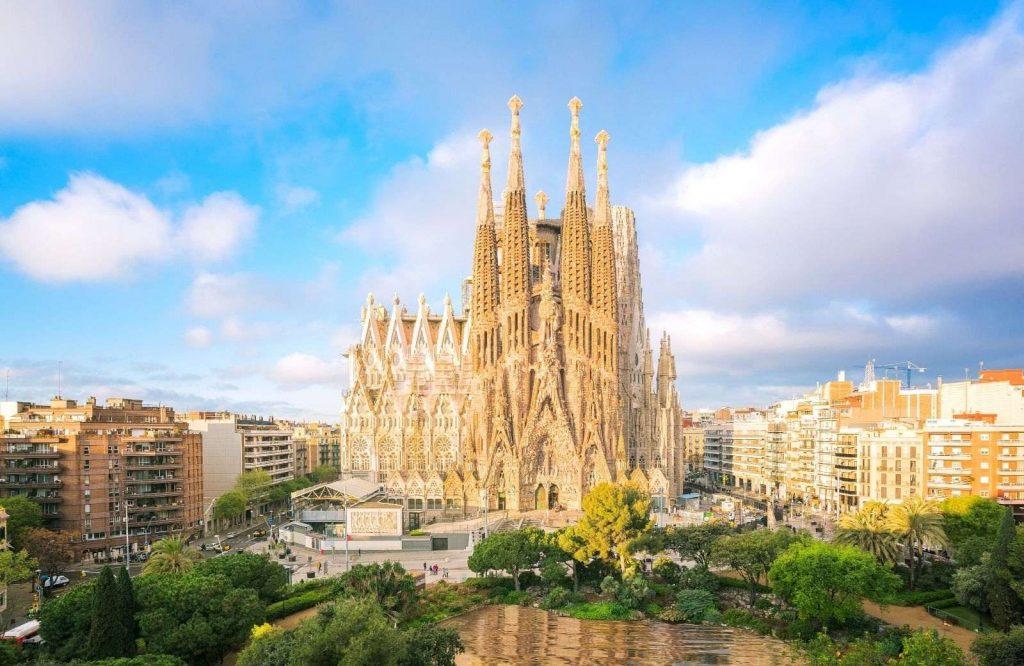 La Sagrada Familia is a must on any 2 day Barcelona itinerary.