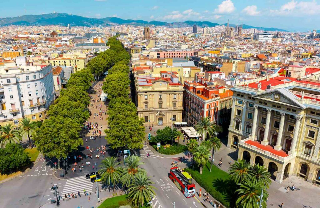 If you're doing Barcelona in 2 days, don't forget to check out Las Ramblas.