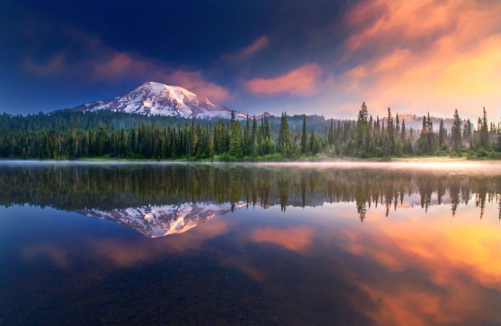 There are several beautiful national parks on the West Coast.