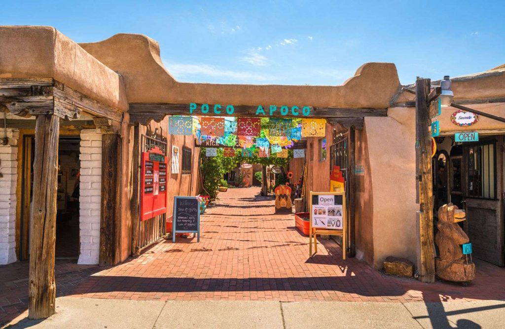 One of the most incredible Route 66 attractions is Old Town Albuquerque.