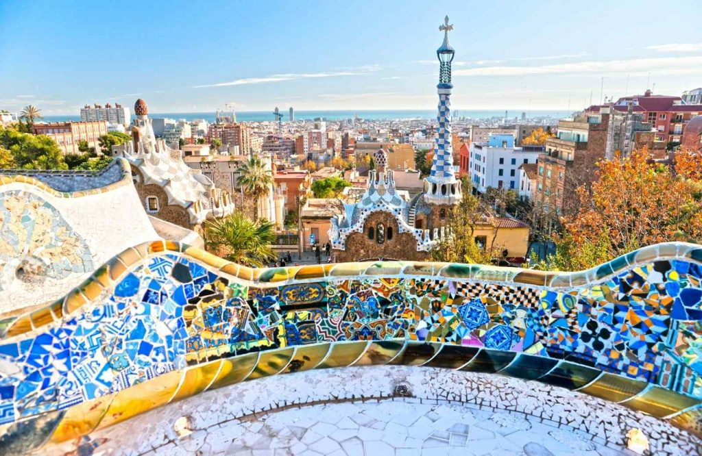 An iconic thing to do on any 2 day Barcelona itinerary is Park Guell.