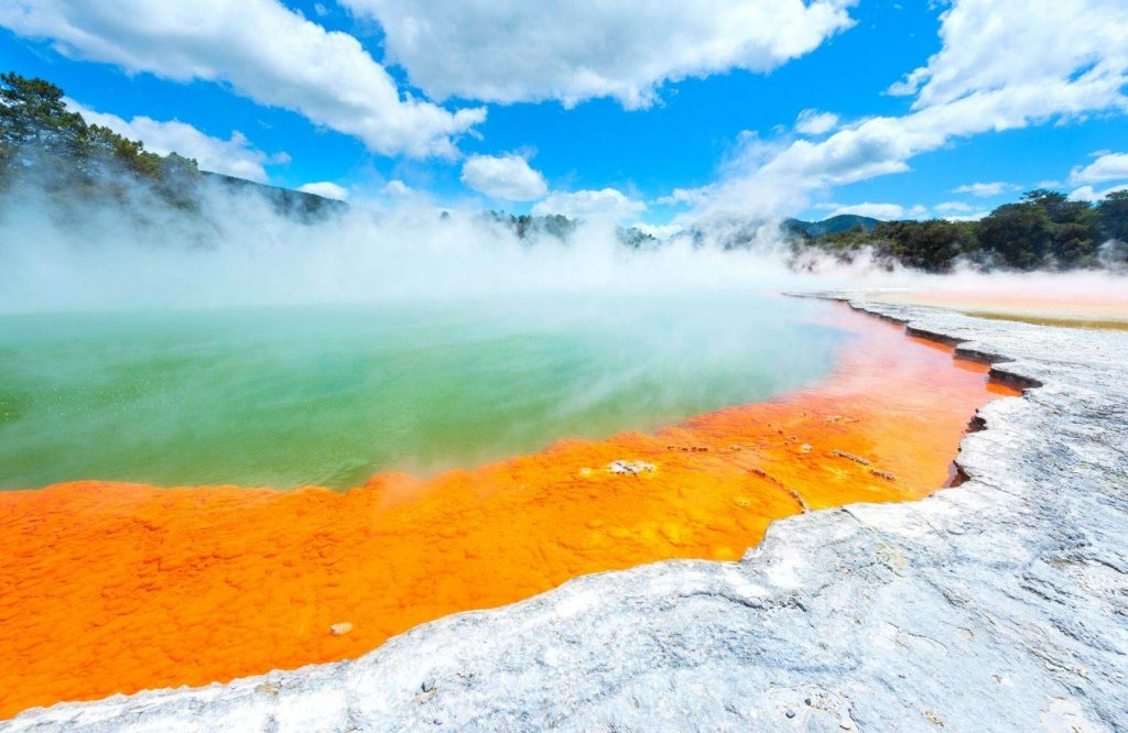Rotorua is one of many amazing day trips from Auckland.