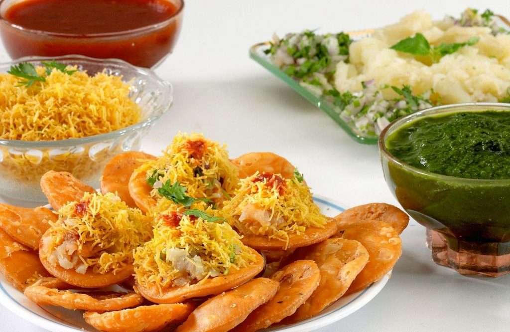 If you're looking for delicious Indian street food dishes to try, definitely try Sev Puri.