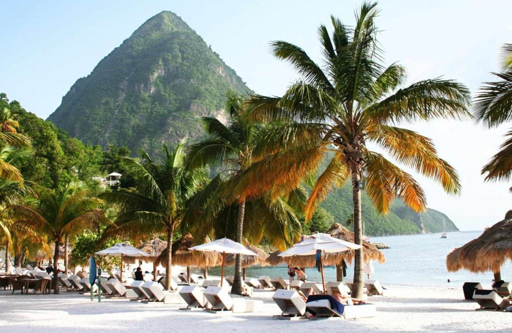 If you're looking for beach destinations, add St. Lucia to your bucket list for couples.