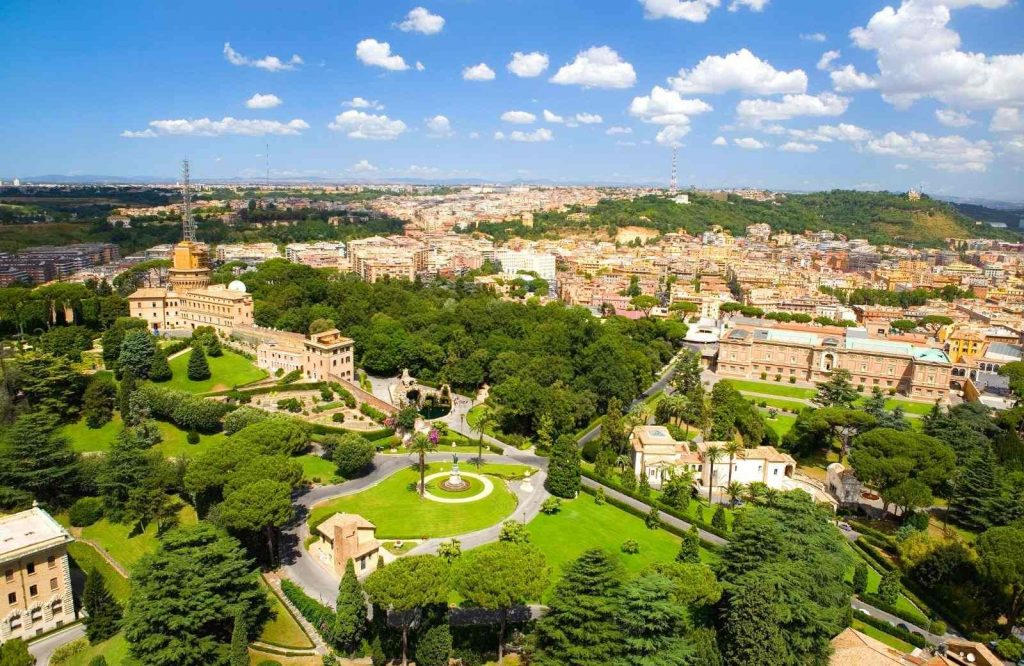 Visiting the Vatican is fun and don't forget to stop by the Vatican Gardens.
