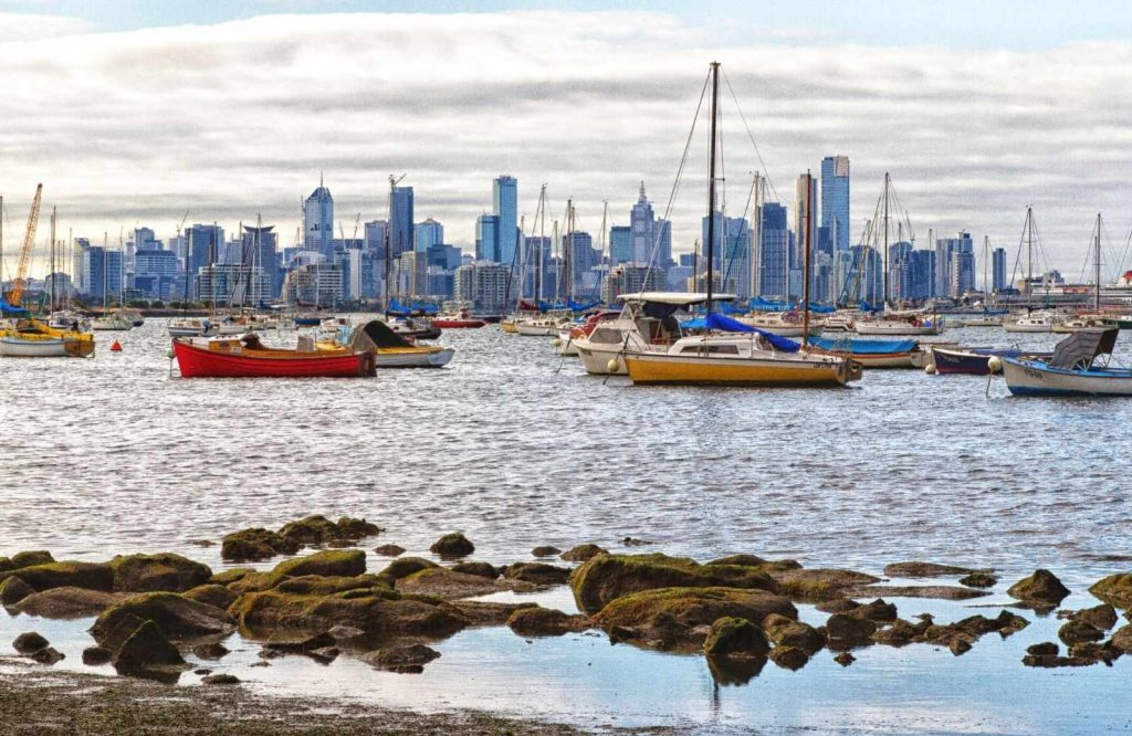 One of the easiest day trips from Melbourne is Williamstown.
