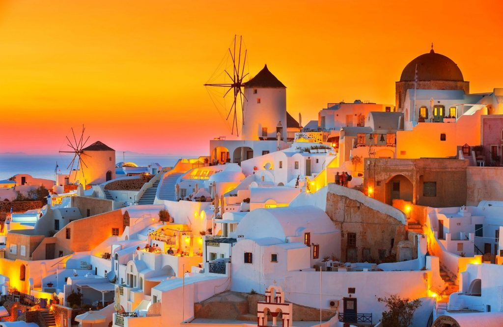 You can also take tours from Athens to Santorini.