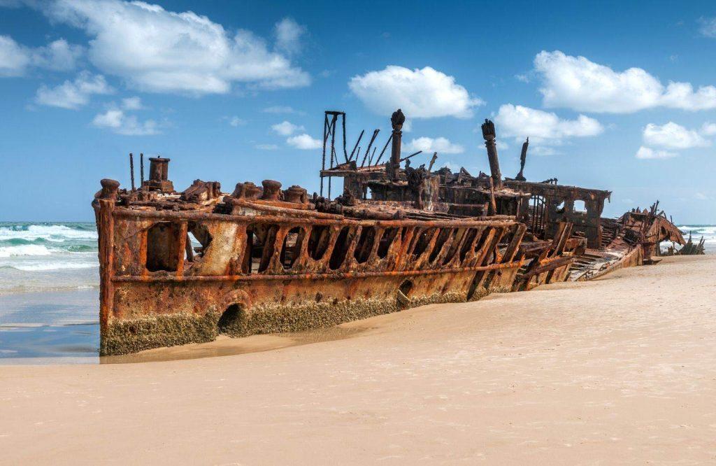 A fun landmark in Australia is Fraser Island.