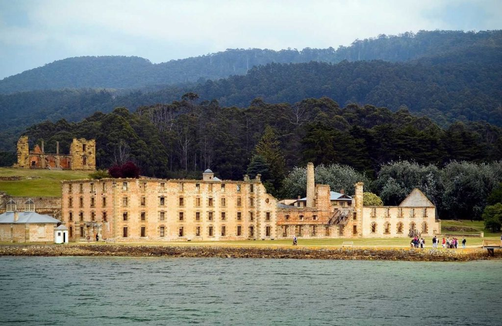 Port Arthur is one of the most famous landmarks in Australia.