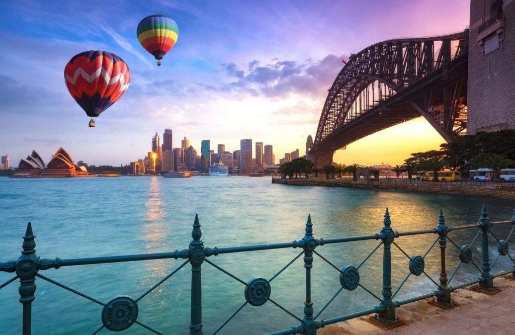 Add Sydney Harbor Bridge to your list of landmarks in Australia.