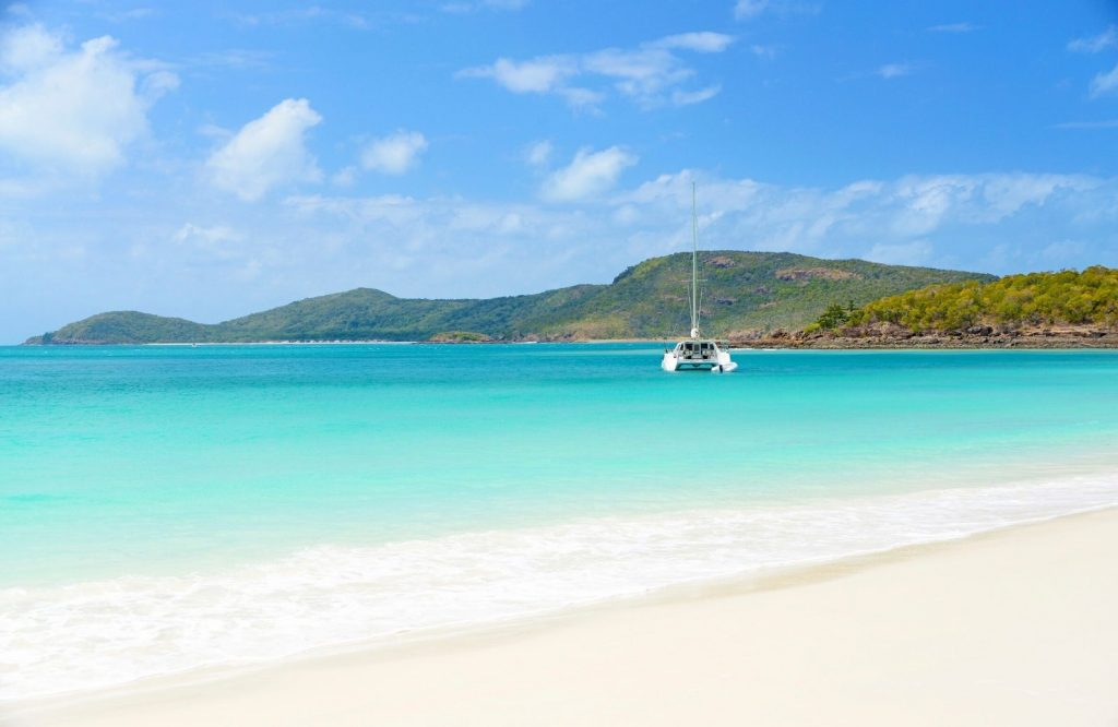 Whitehaven Beach is one of the most gorgeous landmarks in Australia.